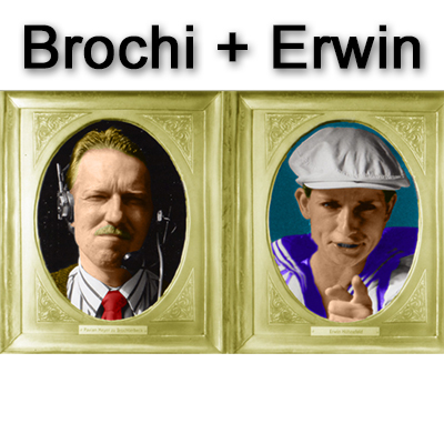 "Brochi und Erwin - ""April, April"" (8.4.2010)"