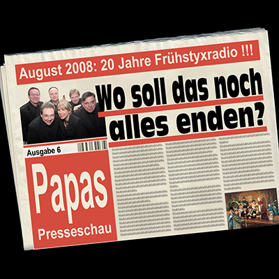 "Papas Presseschau - ""Hetz-TV"" (20.8.2008)"
